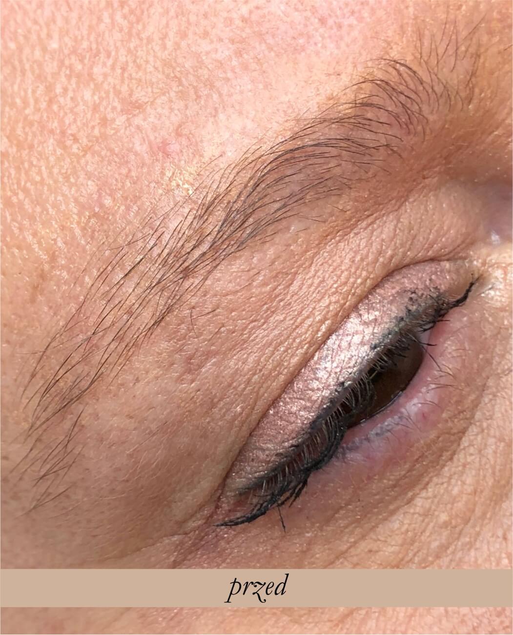 Makijaż permanentny brwi -Metoda cienia