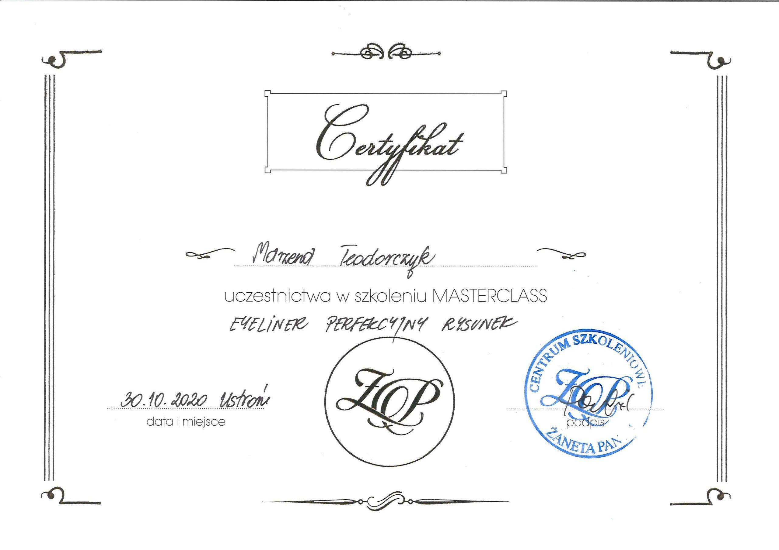 Certyfikat2_Marzena Teodorczyk